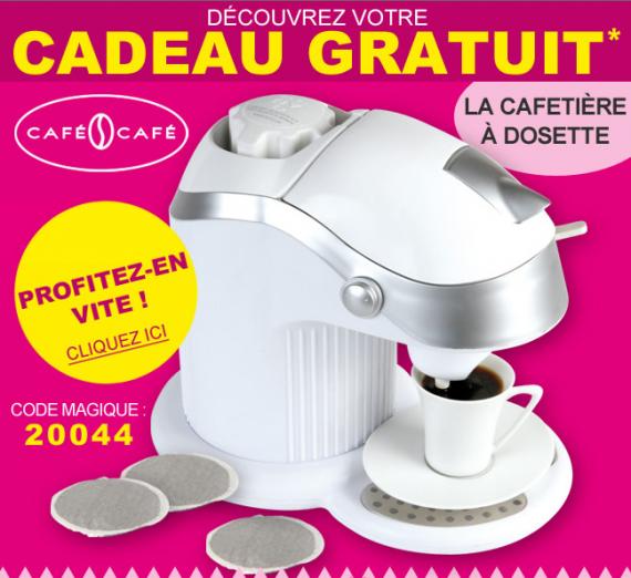 Vitrine magique cafeti re dosettes en cadeau fdp - Code promo berceau magique frais port ...
