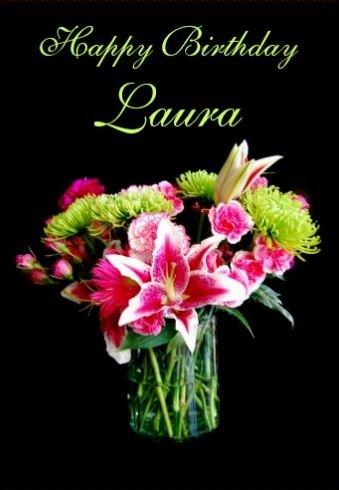 Bon Anniversaire Laura Bar