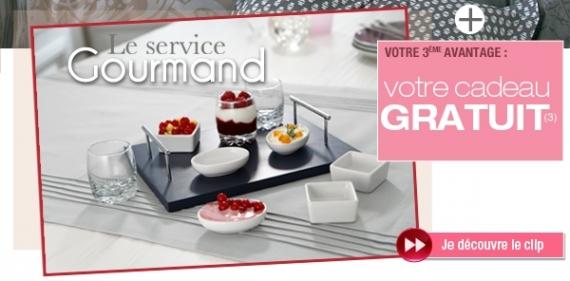 becquet cadeau service gourmand promotion. Black Bedroom Furniture Sets. Home Design Ideas