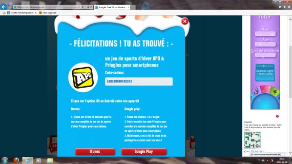 Code jeu pour smartphone promotion - Nutella tefal com jeux ...