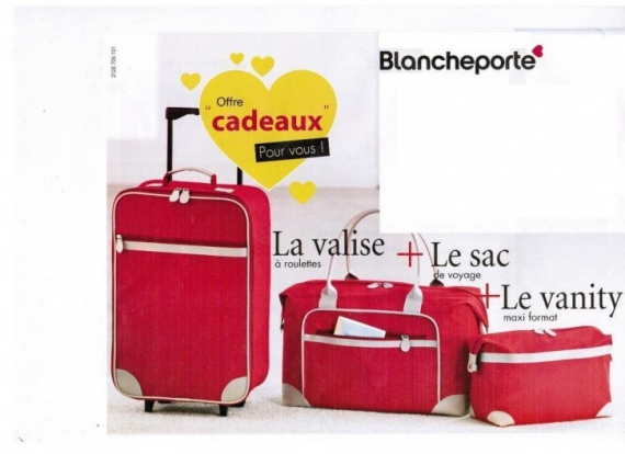 Coupons blanche porte