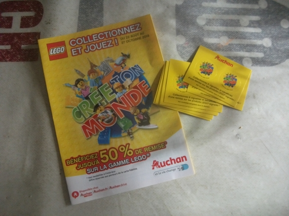 Carte Lego Auchan Echange.Cartes Lego Auchan Bar