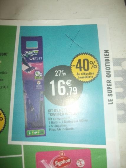 Balai Spray Wet Jet Offre De Remboursement