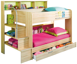 bon plan profitez des lits superpos s bibop de coloris. Black Bedroom Furniture Sets. Home Design Ideas