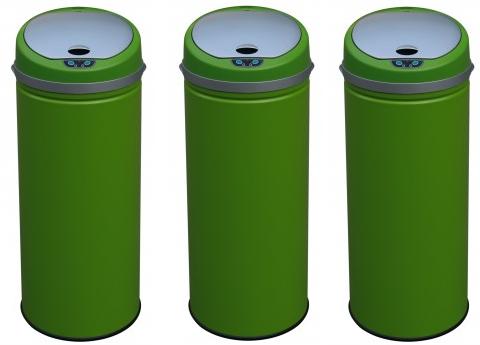 bon plan tavulesprix c de 39 99 la poubelle automatique verte kitchen move 30 l chez. Black Bedroom Furniture Sets. Home Design Ideas