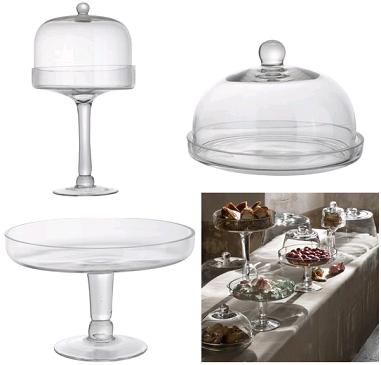 bon plan 20 de r duction sur le pr sentoir g teaux en verre athezza avec la boutique. Black Bedroom Furniture Sets. Home Design Ideas