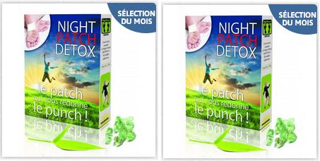 bon plan la boite de night patch detox vaut seulement 17 52 chez sant market chez santemarket. Black Bedroom Furniture Sets. Home Design Ideas