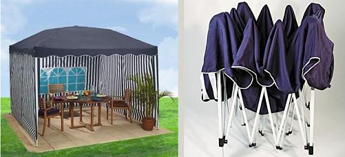 bon plan une tonnelle parapluie 3x3 m pour 59 99 chez shopix chez shopix. Black Bedroom Furniture Sets. Home Design Ideas