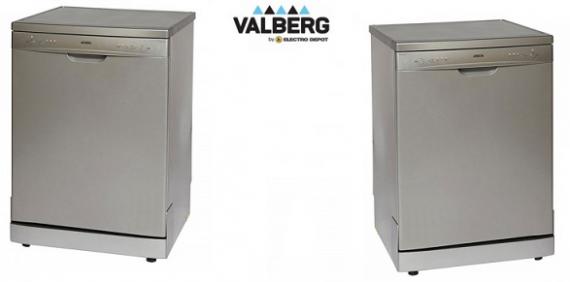 bon plan le lave vaisselle valberg val 12c49 smc silver s affiche seulement 198 00 sur. Black Bedroom Furniture Sets. Home Design Ideas