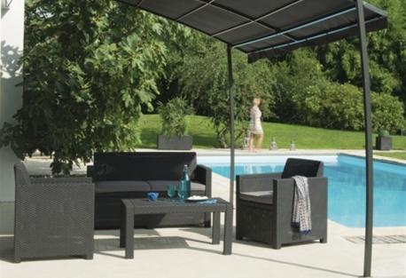 bon plan bricorama propose 179 00 le salon de jardin ensemble merano chez bricorama. Black Bedroom Furniture Sets. Home Design Ideas