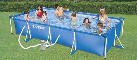 Bon plan la piscine tubulaire rectangulaire intex co te for Soldes piscine tubulaire rectangulaire