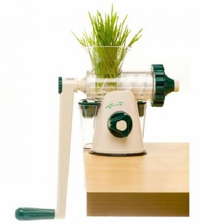 bon plan extracteur de jus manuel healthy juicer pour 49. Black Bedroom Furniture Sets. Home Design Ideas