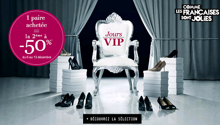 Code reduction la halle aux chaussures promo frais de - Code promo la redoute frais de port offert ...