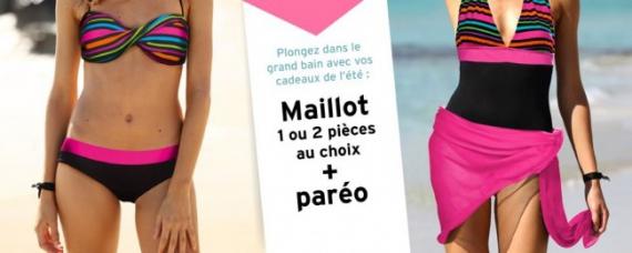 Code promo 3 suisses maillot de bain offert