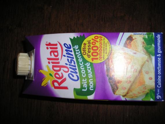 Odr regilait cuisine offre de remboursement for Regilait cuisine