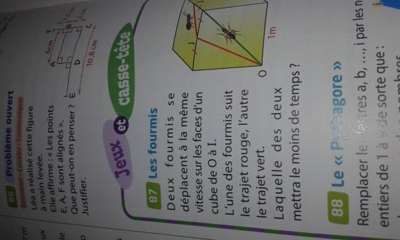 Aide Au Devoir Exercice 4eme Maths Bar