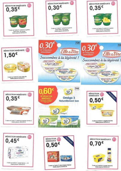 Coupons reduction alimentaire leclerc