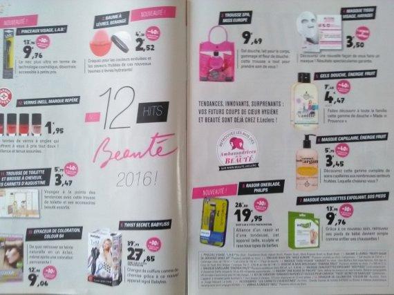 catalogue leclerc beaut du 11 au 21 mai 2016 - Leclerc Coloration