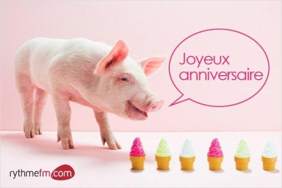 Joyeux anniv lolo bar - Image de cochon a imprimer ...