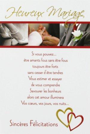 Une bonne nouvelle bar - Texte felicitation mariage original ...