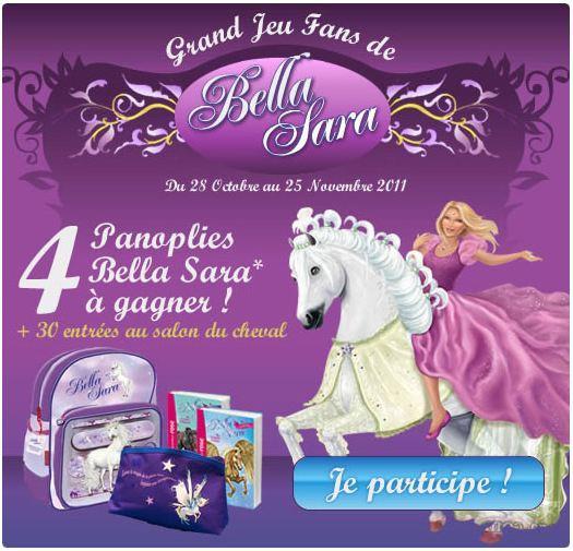 Tas kiabi lots bella sara et places salon du cheval - Jeux de bella sara gratuit ...