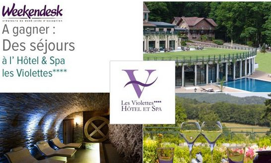 m6 s jours l 39 h tel spa les violettes en alsace jeux concours. Black Bedroom Furniture Sets. Home Design Ideas