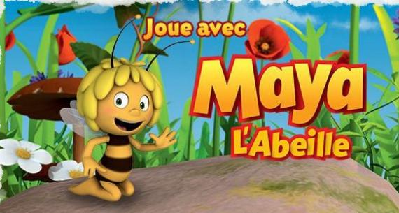 tiji lots de jouets et jeux maya l 39 abeille jeux concours. Black Bedroom Furniture Sets. Home Design Ideas