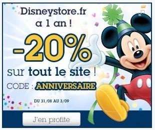 Code de r duction disneystore fr page 27 - Code reduction trigano store ...