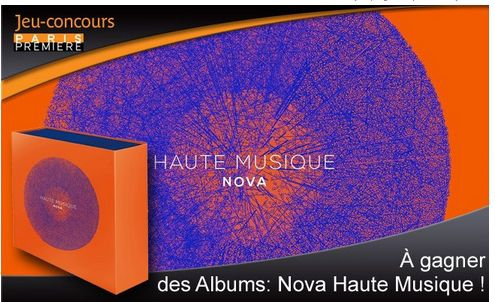 Paris premi re coffrets cd nova haute musique jeux for Haute musique