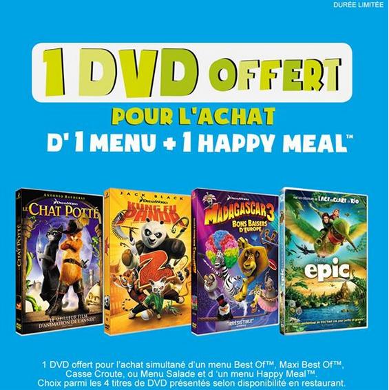 Offre dvd chez mac do
