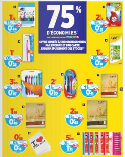 75 D Economies Sur Des Fournitures Scolaire Chez Auchan