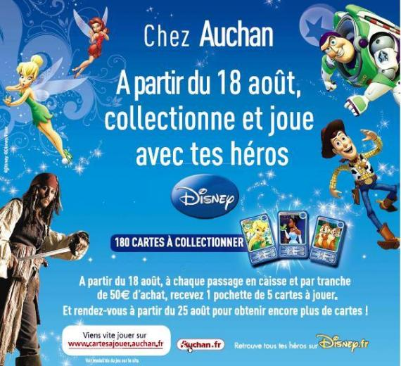Collection carte auchan disney offre de remboursement - Carte de fidelite auchan fr ...
