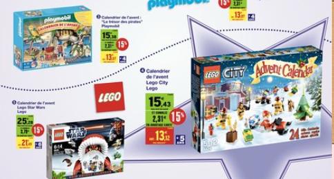 Calendrier De L Avent Lego City 2020.Calendrier De Lavent Auchan