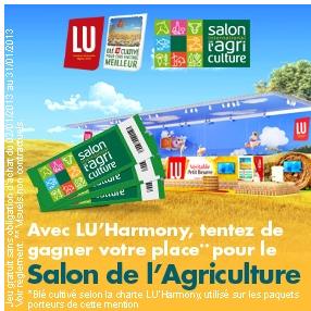 Mavieencouleurs 20 places pour le salon de l 39 agriculture - Salon de l agriculture place gratuite ...