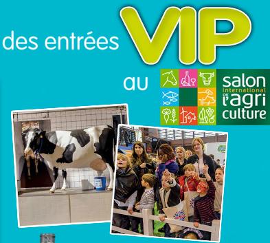 100 entr es au salon de l 39 agriculture jeux concours - Tarif entree salon de l agriculture ...