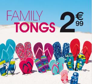 2019 meilleurs nouvelles promotions sélection premium Des tongs à 2.99€ chez Kiabi c'est possible !