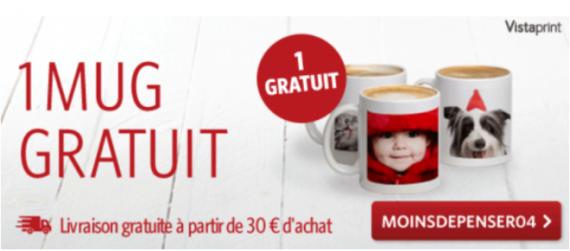Mug gratuit chez vistaprint offre exclusive - Code promo vistaprint frais de port gratuit ...