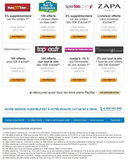 Les codes promos valables pendant les soldes promotion - Code la redoute frais de port gratuit ...