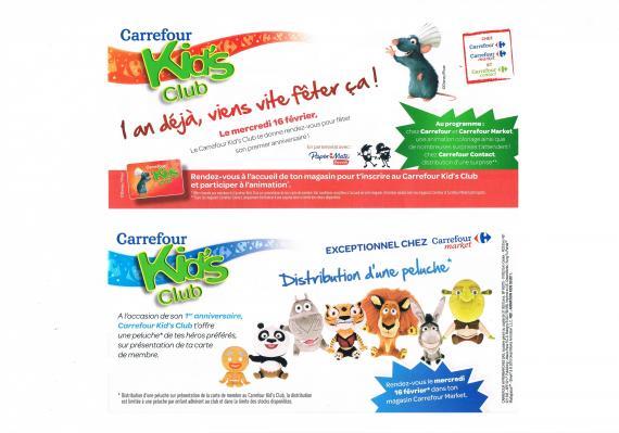Comment Obtenir La Carte Carrefour Kids Club.Carrefour Kids Promotion